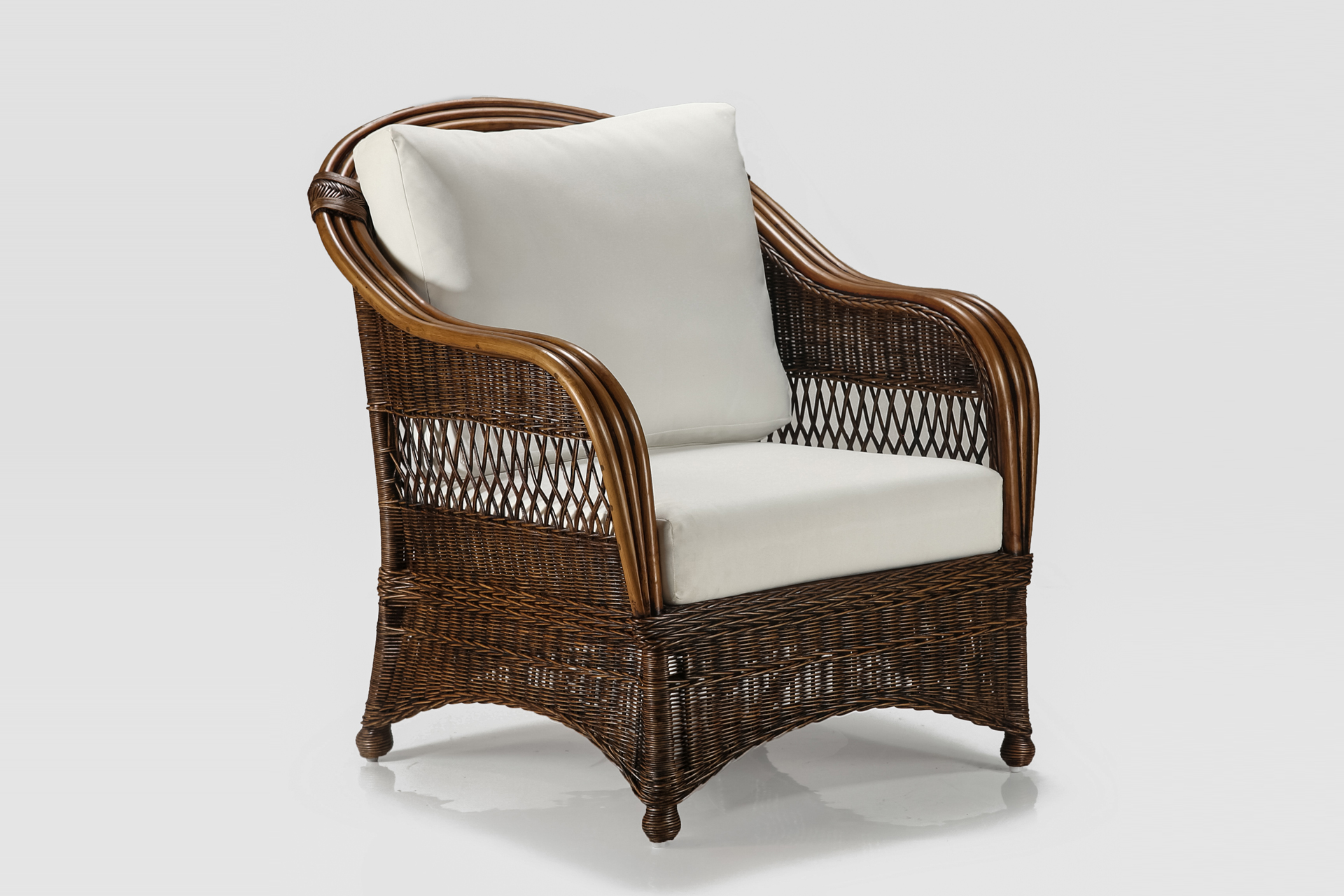 Bohol Armchair Naturally Cane Rattan And Wicker Furniture