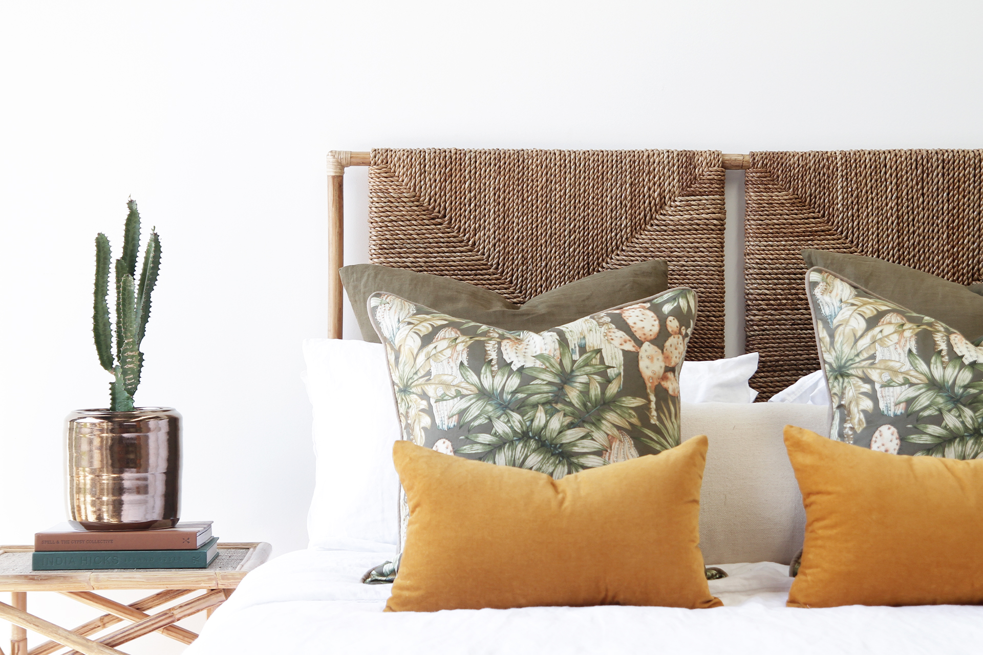 Bedroom Naturally Cane Rattan And Wicker Furniture
