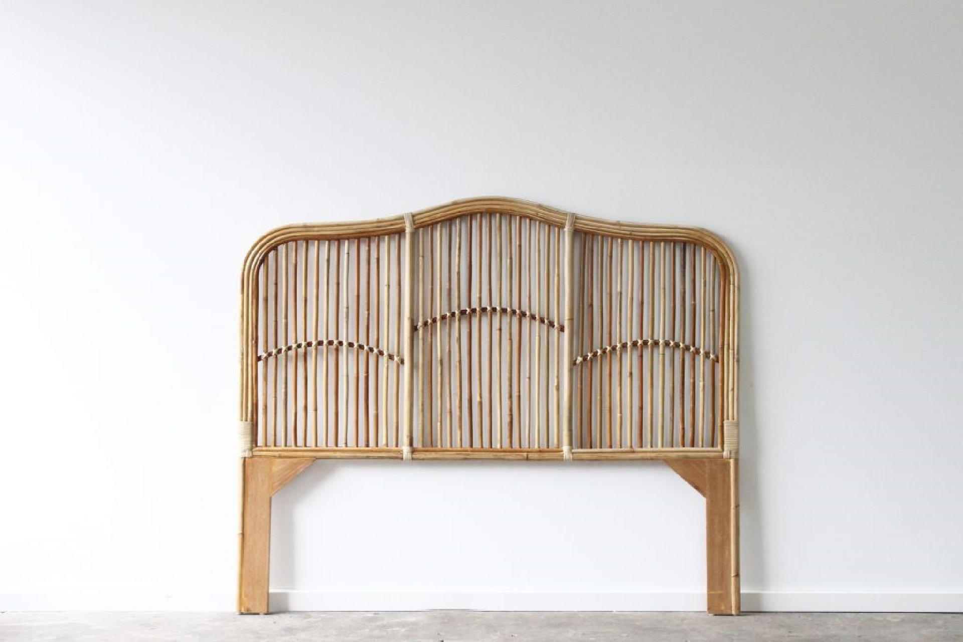 Brookhaven bedhead naturally cane rattan and wicker furniture