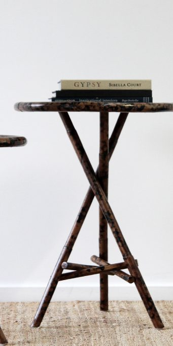 Gypsy tortoise shell large table_LS