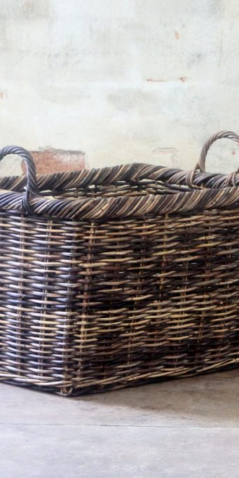 Oiled Basket large