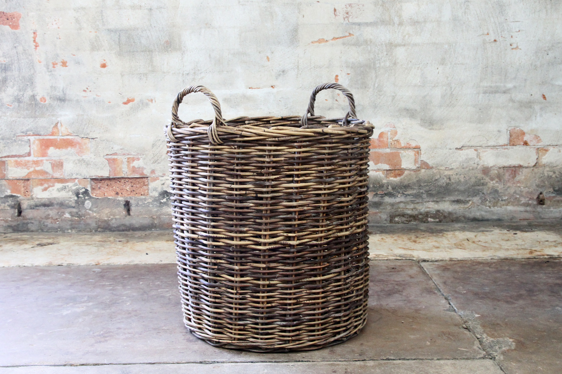 Cane wicker rattan baskets for indoor plants