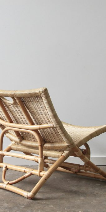 Beach folding chair_wicker_back_LS