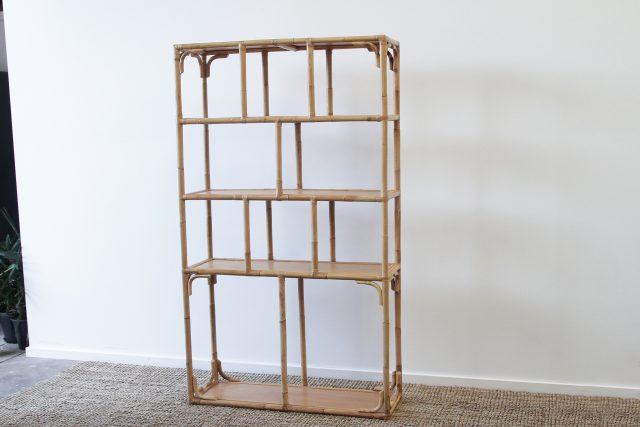 Rattan Display unit