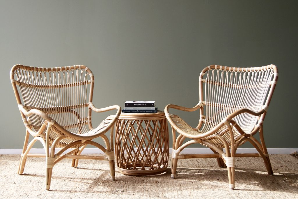 Butterfly Chair Naturally Cane Rattan And Wicker Furniture