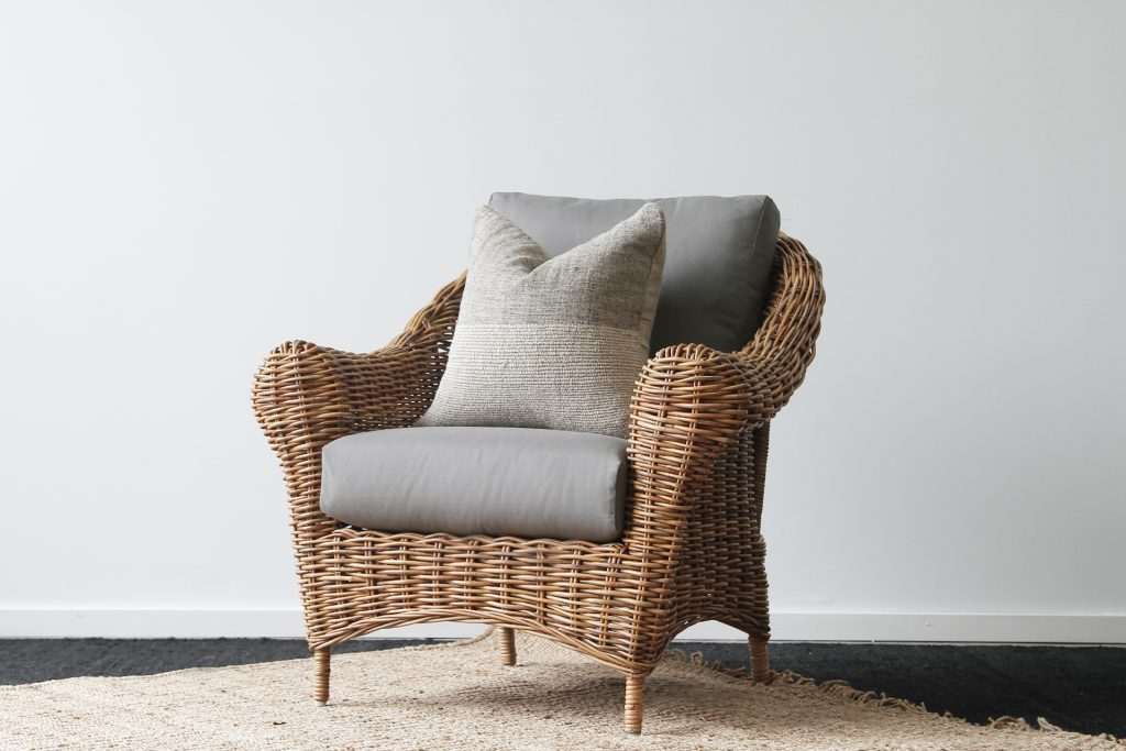 Hampshire Armchair Natural Naturally Cane Rattan And