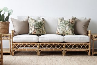Helix Rattan 3 seater