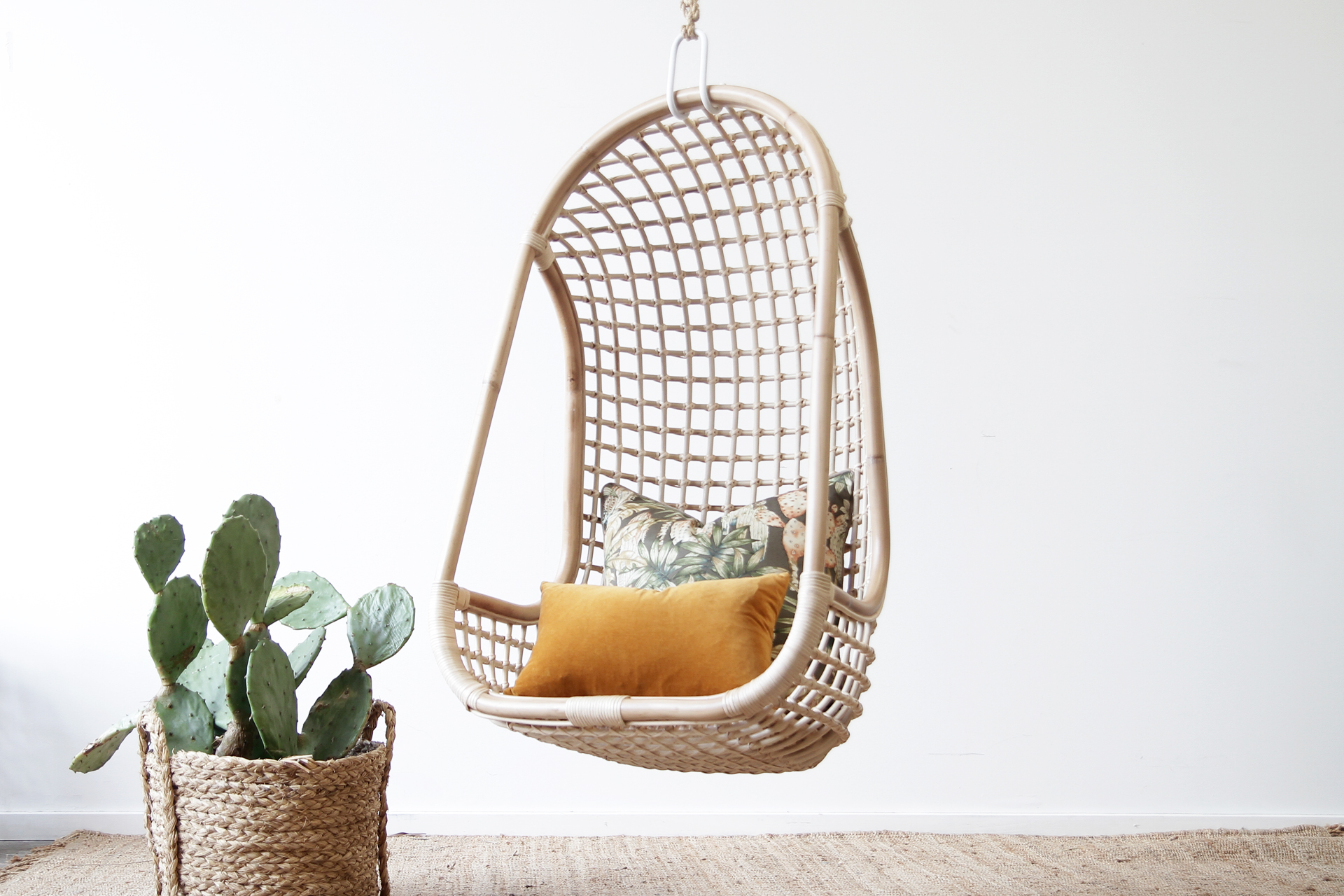 Hanging Chair Naturally Cane Rattan And Wicker Furniture