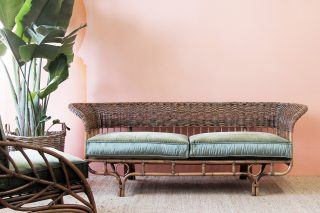 Bower Wicker daybed