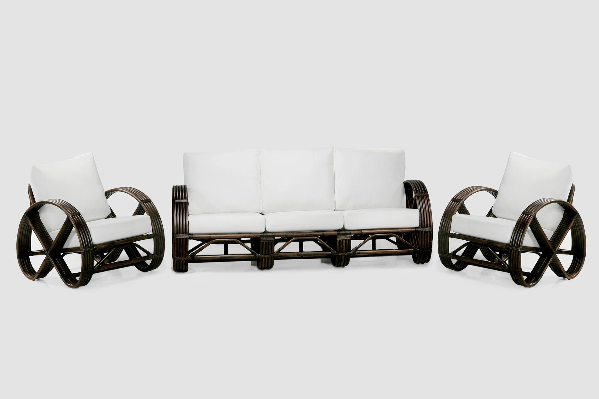 Rattan lounge suite