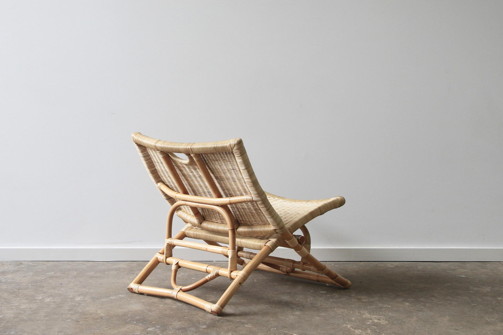 Beach Folding Chair Wicker Back Ls Naturally Cane Rattan