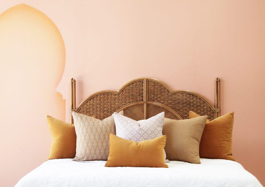 Sahara Bedhead Naturally Cane Rattan And Wicker Furniture