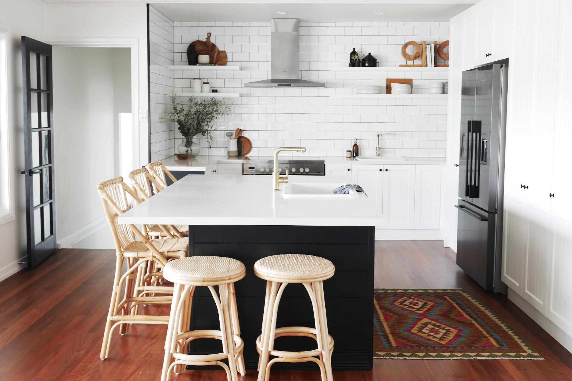 Awe Inspiring Bar Kitchen Stools Naturally Cane Rattan And Wicker Inzonedesignstudio Interior Chair Design Inzonedesignstudiocom