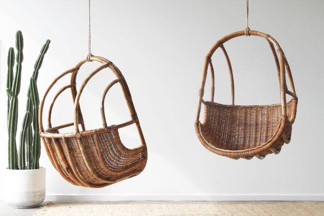 Natural Rattan hanging chair