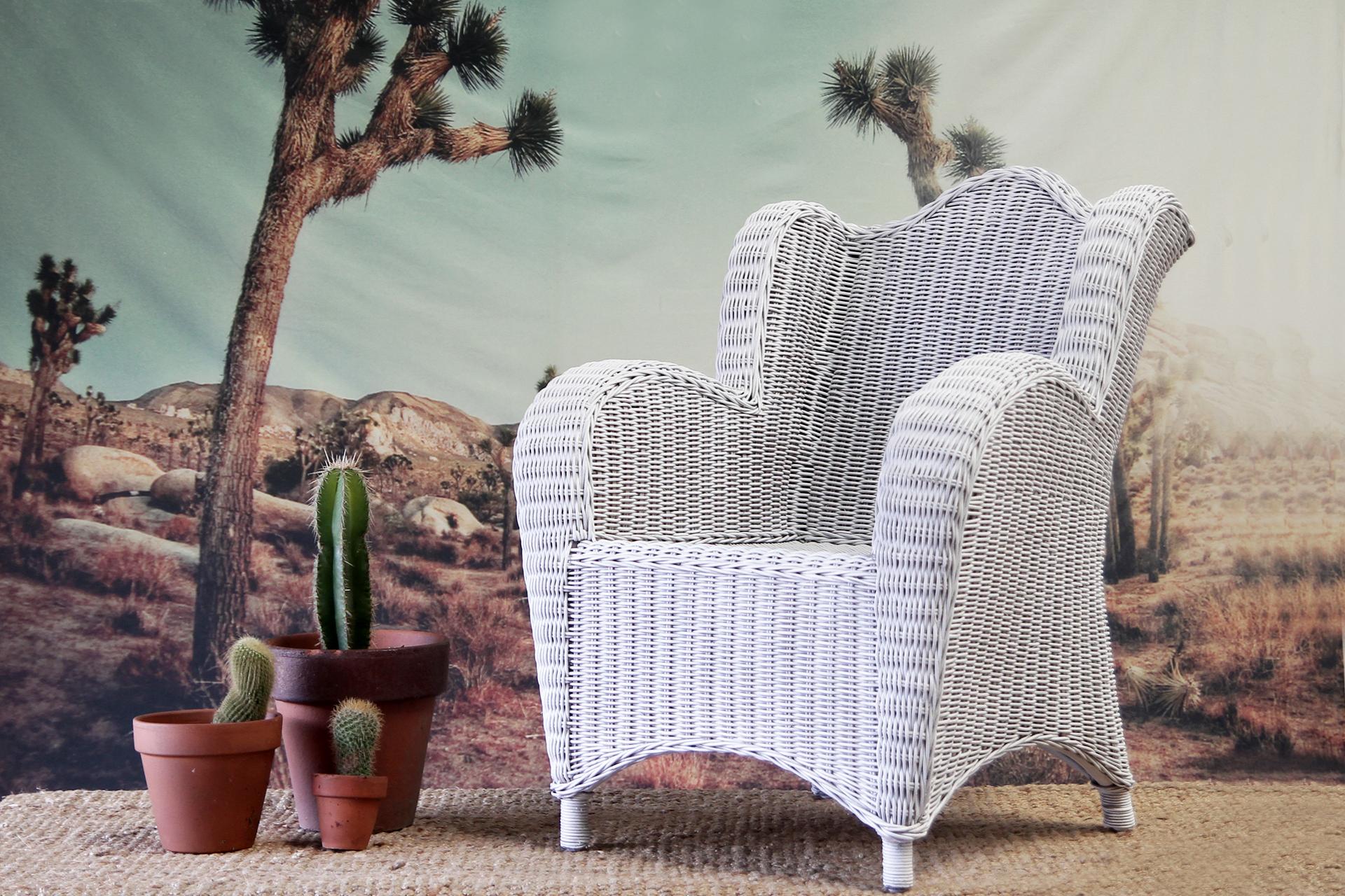 Childs Wicker Armchair