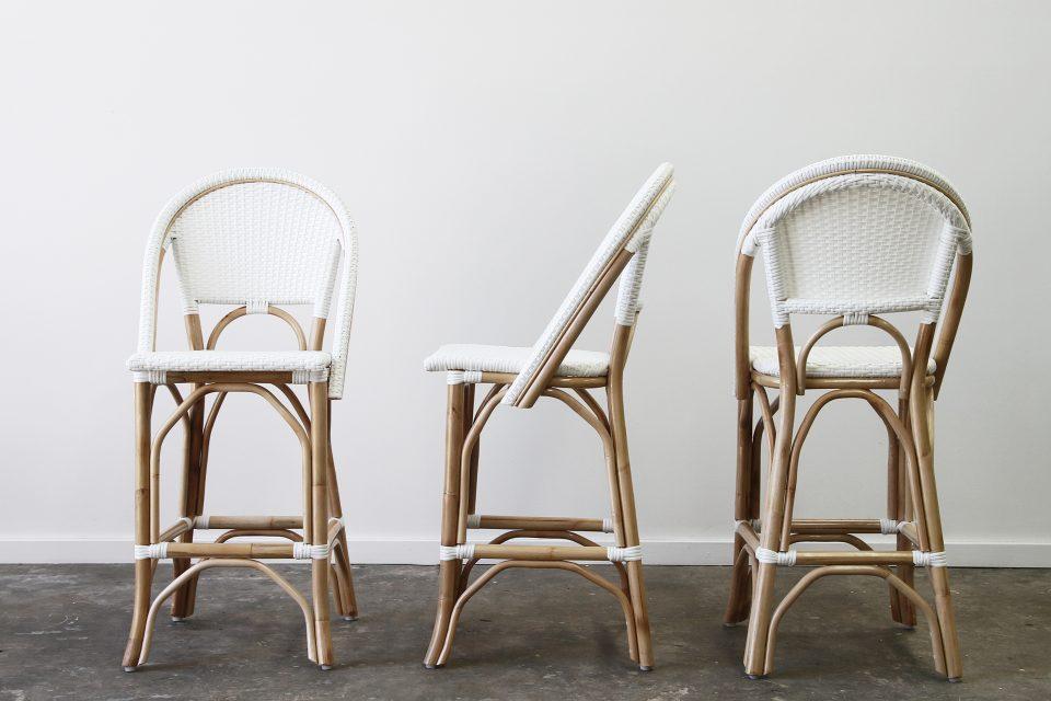 Amazing Bar Kitchen Stools Naturally Cane Rattan And Wicker Inzonedesignstudio Interior Chair Design Inzonedesignstudiocom