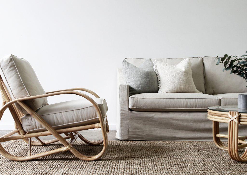 Pretzel Armchair Naturally Cane Rattan And Wicker Furniture