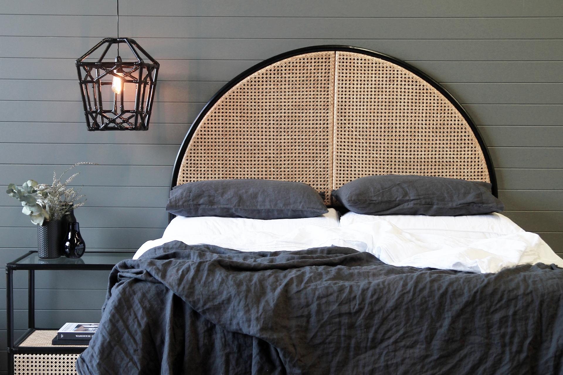 Serena Bedhead Naturally Cane Rattan And Wicker Furniture
