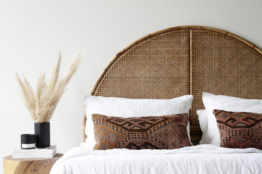 Serena Headboard Naturally Cane Rattan And Wicker Furniture