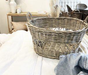 Laundry Basket Grey_LS