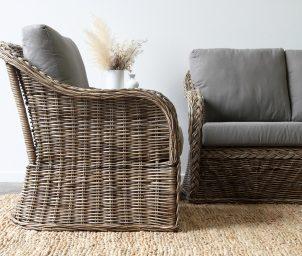 Batavia armchair grey side_LS