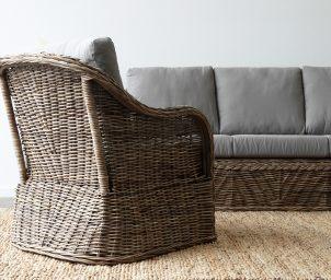 Batavia armchair grey side_back_LS