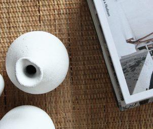 Pretzel coffee table webbing top