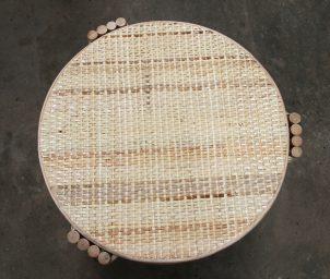 Pretzel Round Side Table Top
